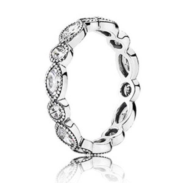 Pandora Alluring Brilliant Marquise Ring, Size 8.5