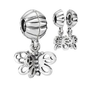 Pandora Best Friends Forever Double Charm, Butterfly