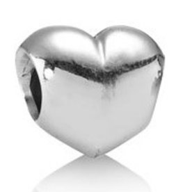 Pandora Big Smooth Heart Charm