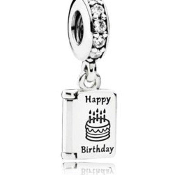 Pandora Birthday Wishes Charm