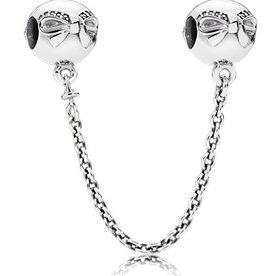 Pandora Dainty Bow Safety Chain