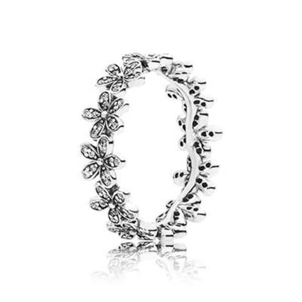 Pandora Dazzling Daisy Meadow Ring, Size 6