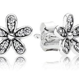 Pandora Dazzling Daisy Stud Earrings