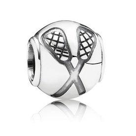 Pandora Lacrosse Charm