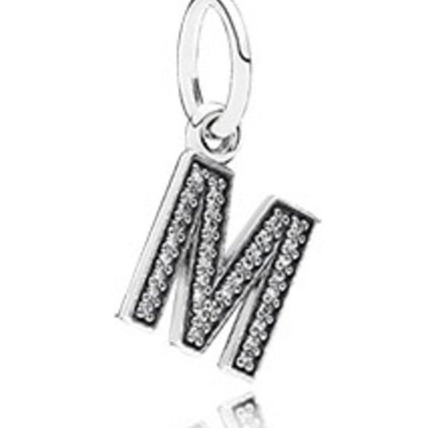 Pandora Letter M Charm