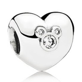 Pandora Heart of Mickey Charm