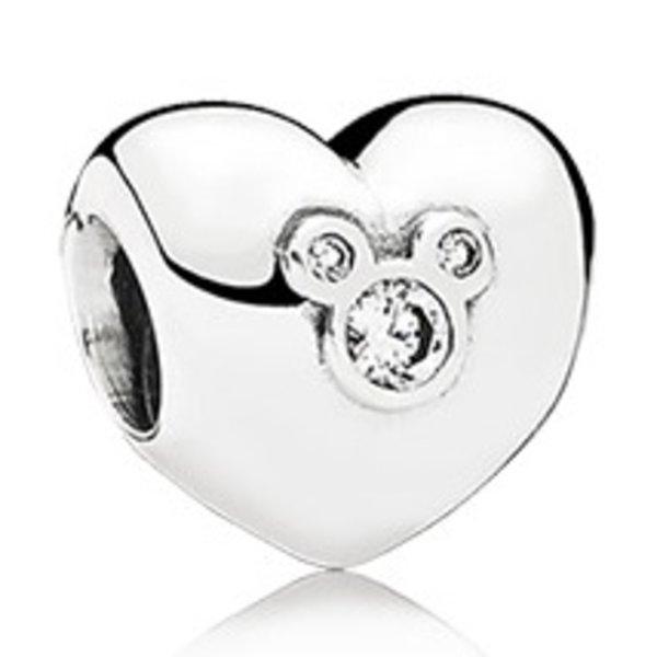 Pandora Heart of Mickey Charm
