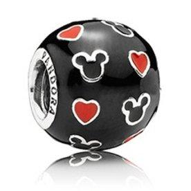Pandora Mickey & Hearts Charm