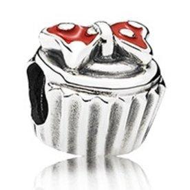 Pandora Minnie Cupcake Charm
