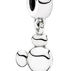 Pandora Solid Mickey Icon Charm