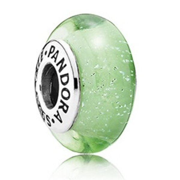 Pandora Tinker Bell's Signature Color, Murano Glass