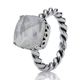 Pandora Elegant Sincerity Ring, Size 4.5
