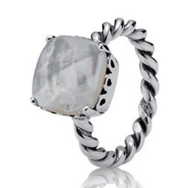 Pandora Elegant Sincerity Ring, Size 8.5