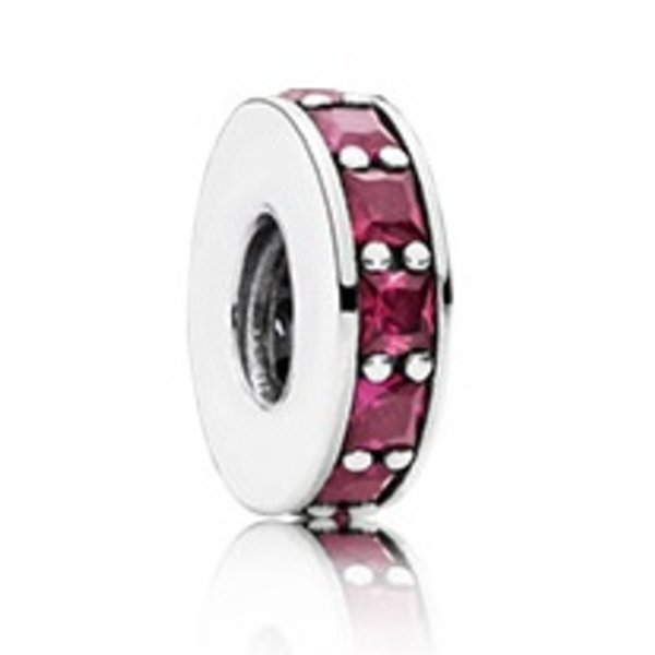 Pandora Eternity Spacer, Synthtic Ruby