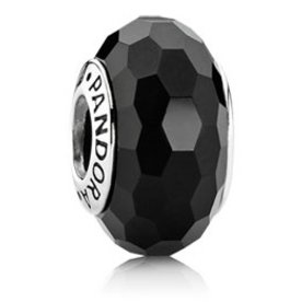 Pandora Fascinating Black Murano Glass