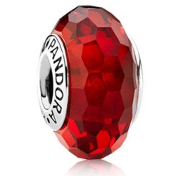 Pandora Fascinating Red Murano Glass