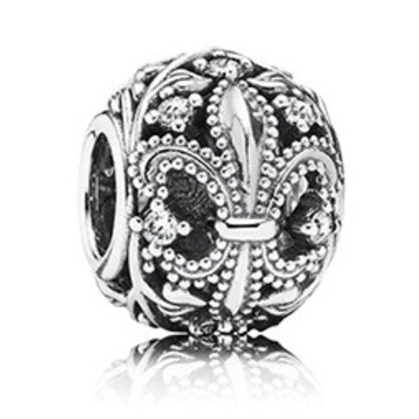 Pandora Fleur-De-Lis Charm