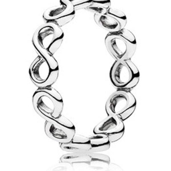 Pandora Infinite Shine Ring, Size 7