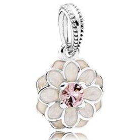 Pandora Blooming Dahlia Pendant Charm