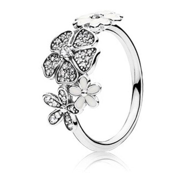 Pandora Shimmering Bouquet Ring, Size 7