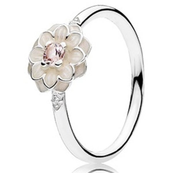 Pandora Blooming Dahlia Ring, Size 4.5