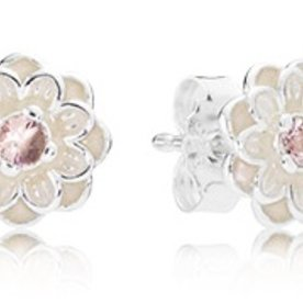 Pandora Blooming Dahlia Stud Earrings