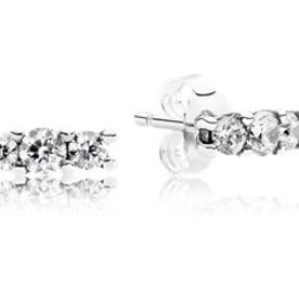 Pandora Sparkling Elegance Stud Earrings