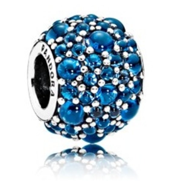 Pandora Shimmering Droplets, London Blue