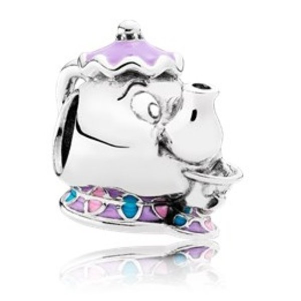 Pandora Mrs. Potts & Chip Charm