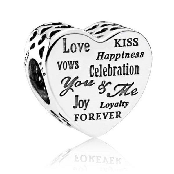 Pandora Celebration Heart Charm