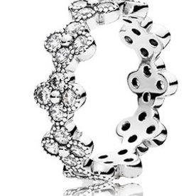 Pandora Oriental Blosssom Ring, Size 7.5