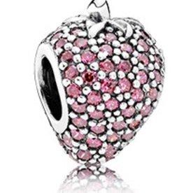 Pandora Strawberry Pave Charm