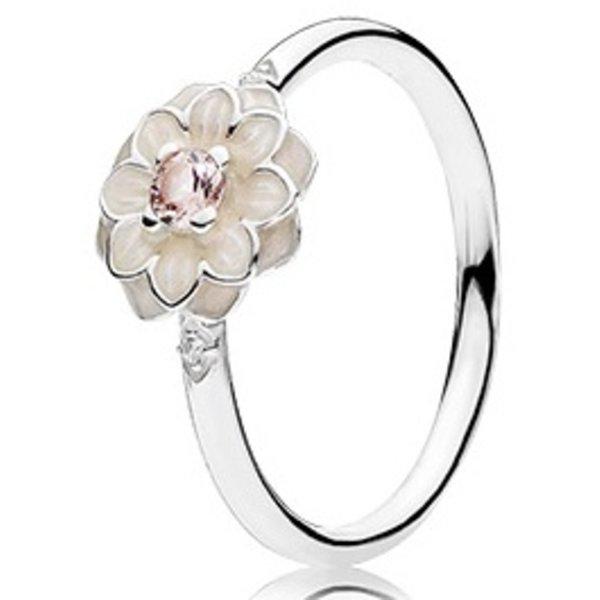Pandora Blooming Dahlia Ring, Size 8.5