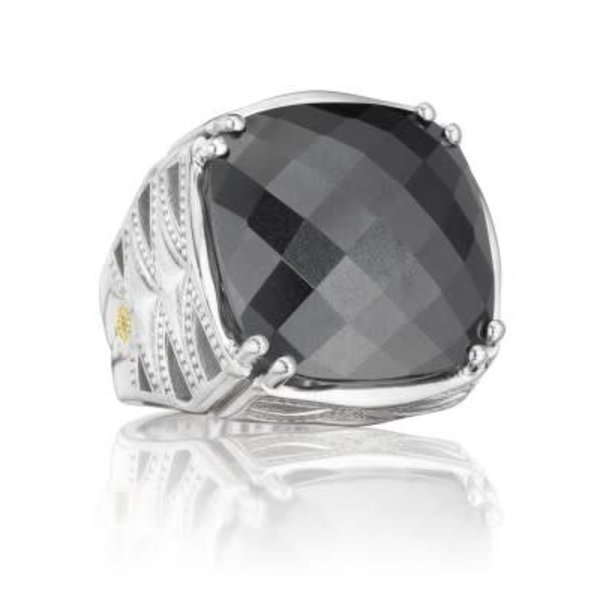 Tacori HEMATITE CLSIC RCK RING