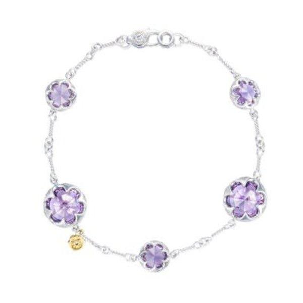 Tacori Multi Gem Chain Bracelet featuring Amethyst