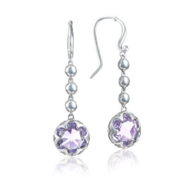 Tacori Cascading Drop Earrings featuring Amethyst