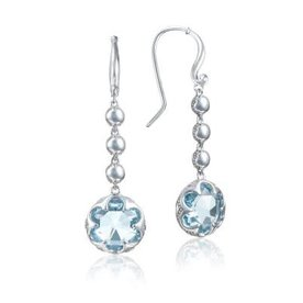 Tacori Sonoma Skies Cascading Drop Sky Blue Topaz Earrings