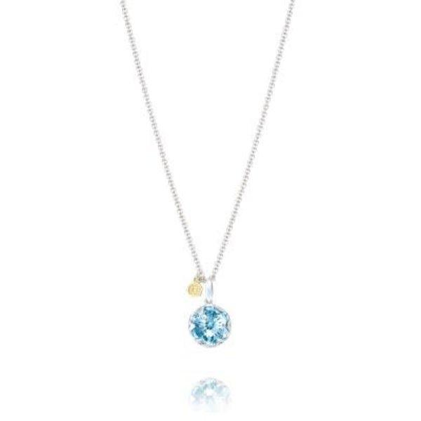 Tacori Gemstone Pendant featuring Sky Blue Topaz