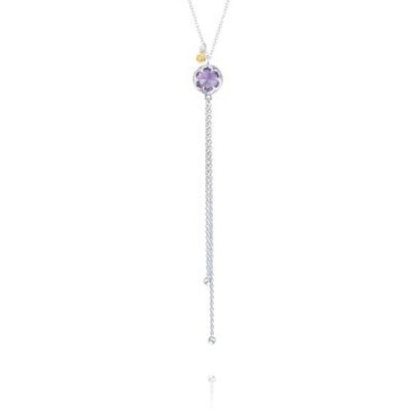 Tacori Lariat Necklace featuring Amethyst