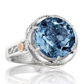 Tacori Island Rains Blue Topaz Ring