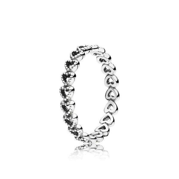 Pandora Linked Love Ring