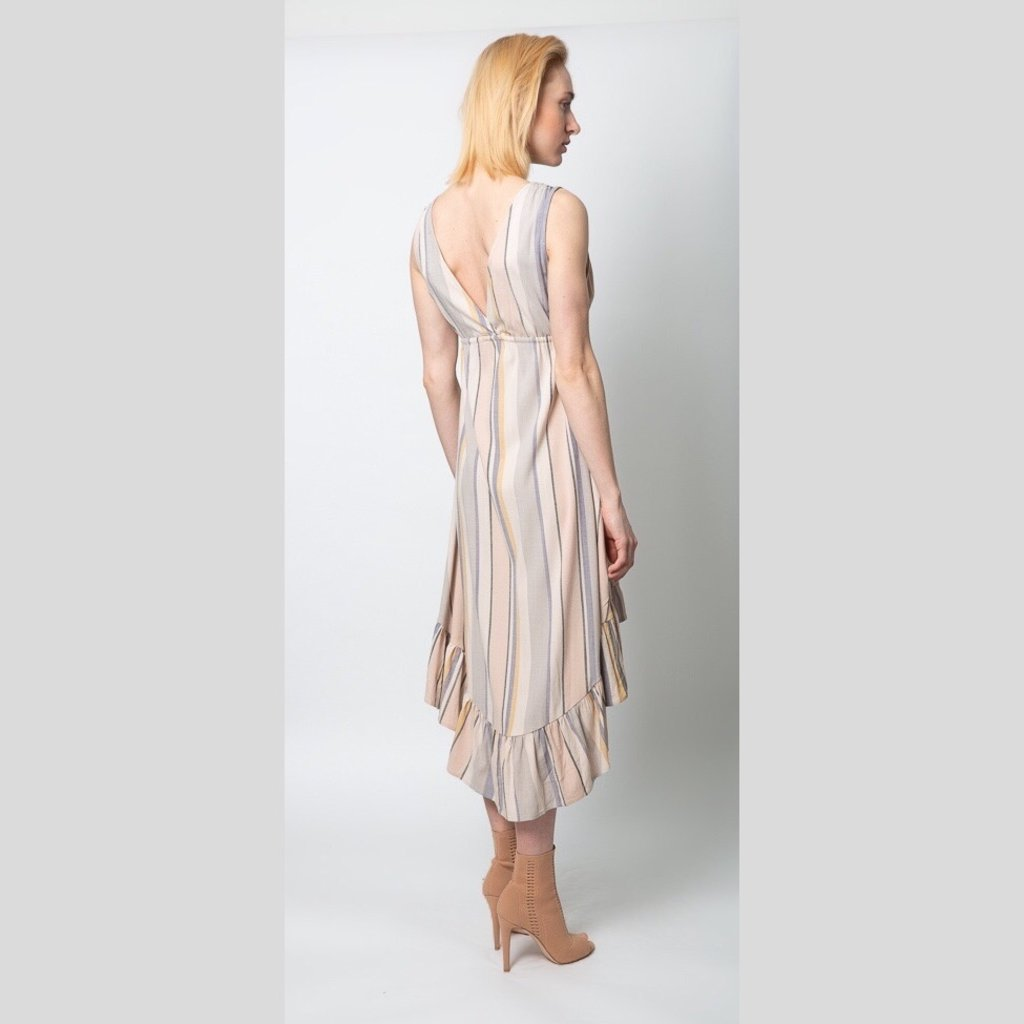 SALTWATER LUXE Maxi Dress Multi Stripe
