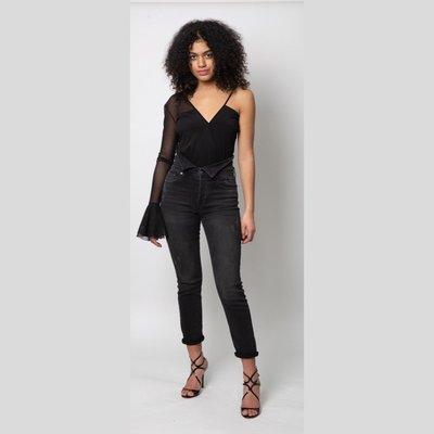 Fletch Lace Sleeve Bodysuit
