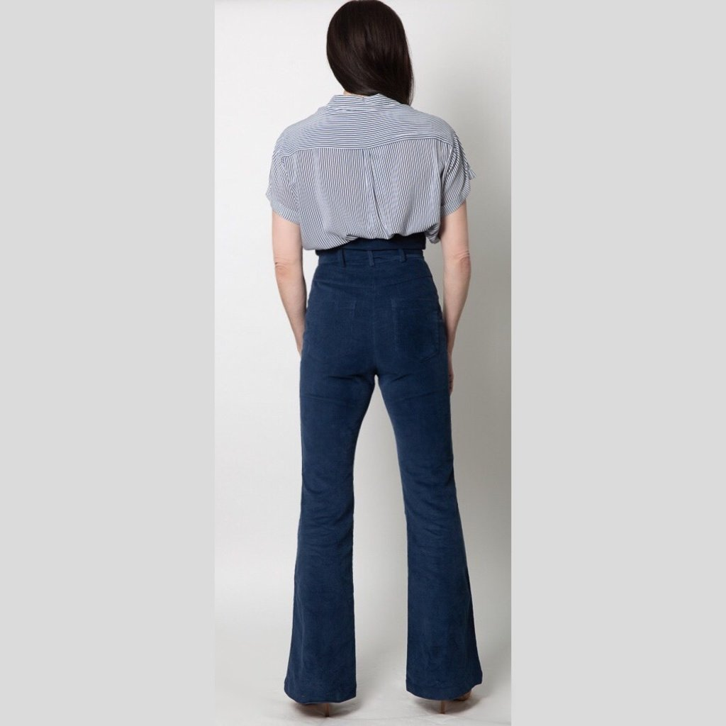 Fletch Dani Corduroy Zip Trousers
