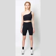 JOAH BROWN Sueded Onyx The Biker Short
