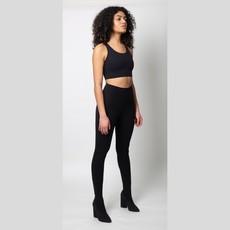 JOAH BROWN Sueded Onyx Gravity Legging