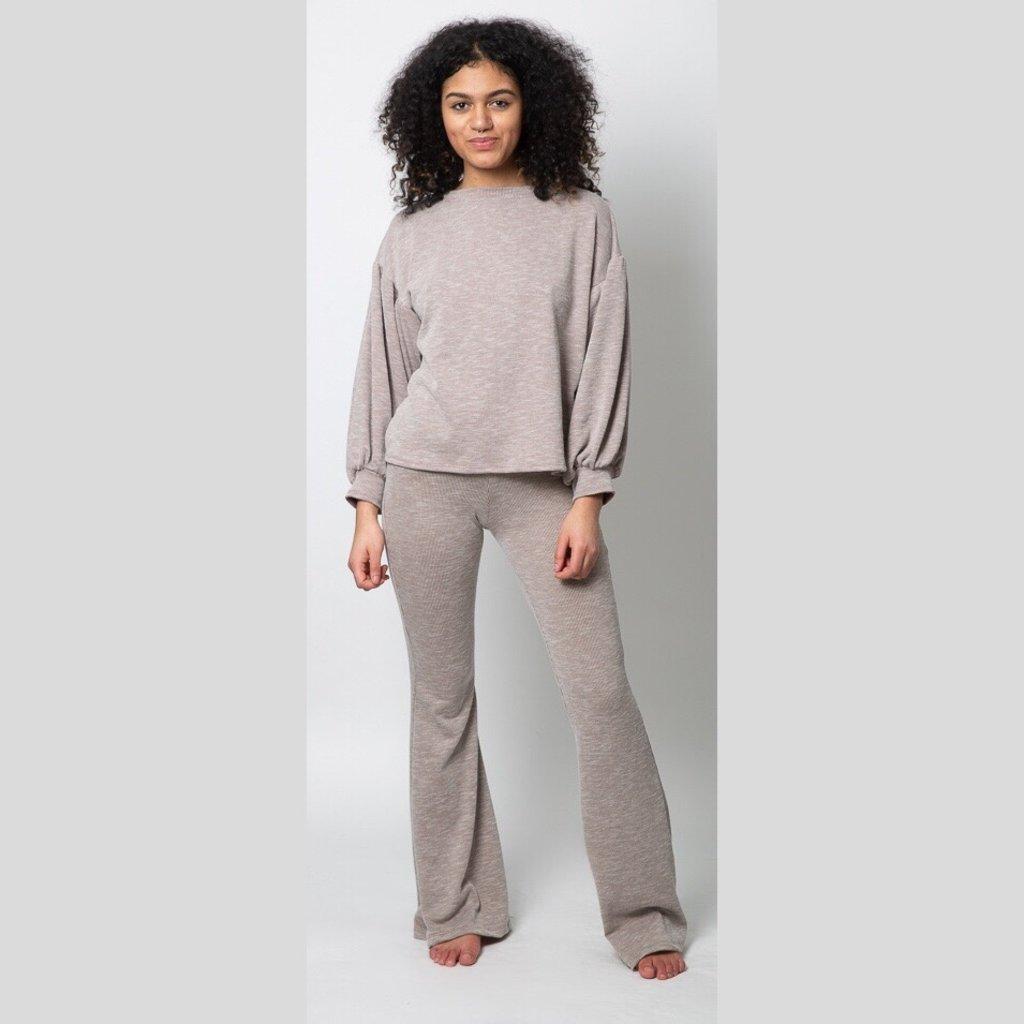 ELAN Bell Bottom Pants/Toffee