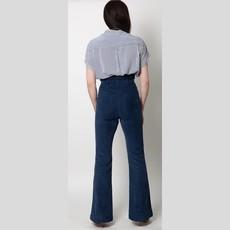 PISTOLA Courtney Cuffed Short Sleeve Shirt