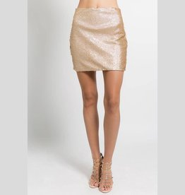 FANCO Night Out Sequin Skirt