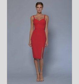 LUMIER Lizzie Bustier Split Dress